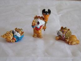"Figurines ( 3 ) Kinder "" Famille Chat "" - Figurines"