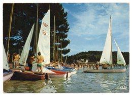 MARCILLAC LA CROISILLE--1981--La Plage (animée,voilier 470 ....)  Cachet  St Pardoux.......à Saisir - France
