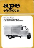 APE PIAGGIO ELETTROCAR - Machines