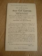Moerbeke Waas Gent René Van Gaever Oud Strijder - Devotieprenten