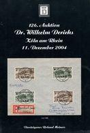 126. Derichs Auktion 2004 - Auktionskataloge