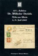 127. Derichs Auktion 2005 - Auktionskataloge