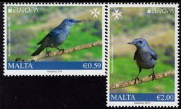 Malta - 2019 - Europa CEPT - National Birds - Mint Stamp Set - Malta