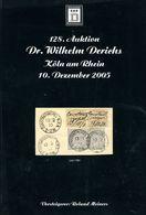 128. Derichs Auktion 2006 - Auktionskataloge