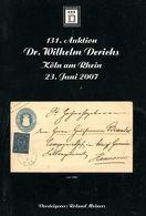 131. Derichs Auktion 2007 - Catalogues For Auction Houses