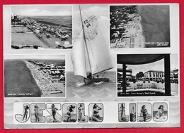 CARTOLINA VG ITALIA - JESOLO LIDO (VE) - Vedutine Multivue - 10 X 15 - ANN. 1958 - Altre Città