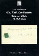 129. Derichs Auktion 2006 - Auktionskataloge