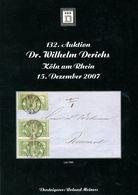 132. Derichs Auktion 2007 - Auktionskataloge