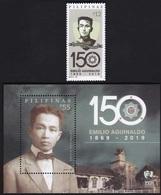 Filippine Philippines Philippinen Pilipinas 2019 Aguinaldo 150th Birth Anniversary 12p. Singles + SS - MNH** (see Photo) - Philippines