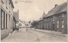 Melden - Kerkstraat - Geanimeerd - Uitg. H. Coussement/Photo Gyselynck, Kortrijk - Oudenaarde