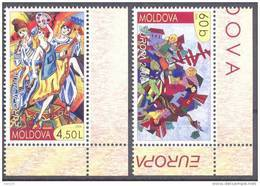 2006. Moldova,  Europa 2006, 2v, Mint/** - Moldova