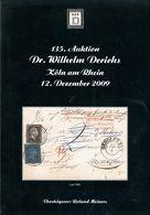 135. Derichs Auktion 2009 - Auktionskataloge