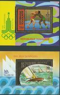Série Complète BF 146/47** TOGO Jeux Olympiques 1980 Moscou - Estate 1980: Mosca
