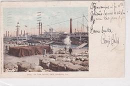 Pionnière. U.S.A. On The Lever. ( Port De La ) NEW ORLEANS L.A. (8.2x13.5) - New Orleans
