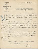 Lettre  1930 / 88 MIRECOURT / ECOLE NORMALE Des Vosges / Commande De Chaises à Lalloz 70 Froideconche - France