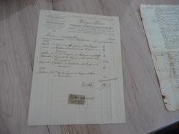 Facture 1898 Pelegrin Frères La Seyne Sur Mer Entreprise De Voitures Et Camionage - Trasporti