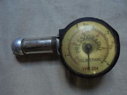 Ancien - Pressographe Sclaverande Type 254 - Outils