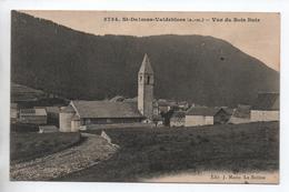 SAINT DALMAS VALDEBLORE (06) - VUE DU BOIS NOIR - Autres Communes