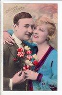 Cpa Carte Postale Ancienne  - Fantaisie Couple Sapi 2716 - Couples