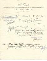 2 Lettres 1920 / 88 MIRECOURT / LA TEXTILE / Société Coopérative De Consommation - France