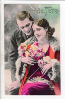 Cpa Carte Postale Ancienne  - Fantaisie Couple Rp 161 - Couples