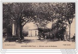 83) LES MAYONS (VAR)  ARRIVEE ROUTE DE GONFARON   - (ANIMEE - VOITURE) - Autres Communes