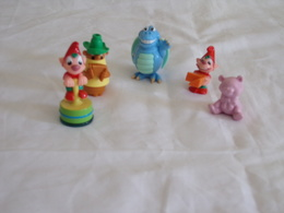Figurines  Kinder ( 5 ) + 2 Notices De Montage - Figurines