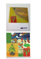 ARGENTINA 1999 MINIATURE SHEET HAPPY CHRISTMAS AND NEW YEAR PACK BOOKLET - Argentine