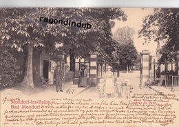 CPA - LUXEMBOURG - MONDORF-LES-BAINS - BAD MONDORF - L' ENTREE Du PARC -  Edit Nels Série 3 N° 2 - 1904 - Mondorf-les-Bains