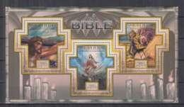 E648. Guinee - MNH - 2011 - Bible - Religion - Samson - Otros