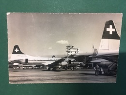 Cartolina Zurich - Flughafen Kloten - 1961 - Postales