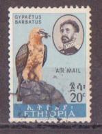 71-675 / ETHIOPIA - 1963   BIRDS  Mi 461 O - Ethiopia