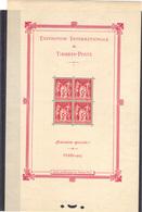 France 1925 Yvert BF 1 Neuf* (2 Légères Traces De Charnières Bord Supérieur) (135) - Blocks & Kleinbögen