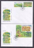 Moldova 1999 Europa CEPT - Parks And Gardens FDC - Moldova