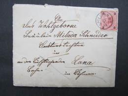 BRIEF Spillern - Lana 1894  // D*38540 - 1850-1918 Imperium