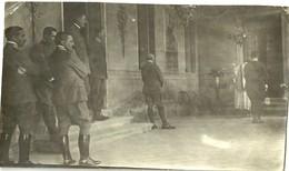 "3867 "" MESSA PER UFFICIALI I WW (IN ZONA DI GUERRA?) ""  FOTO ORIGINALE - War, Military"