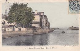 SAINT JEAN DE LUZ - PYRÉNÉES ATLANTIQUES  (64)  PEU COURANTE CPA COULEUR 1906. - Saint Jean De Luz