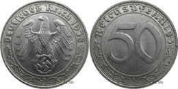 Allemagne - IIIe Reich - 50 Reichspfennig 1938 D - Mon3213 - [ 4] 1933-1945 : Third Reich