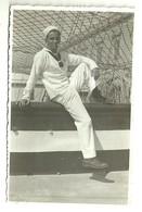 """3870 """" REGIA ACCADEMIA NAVALE-BRIGANTINO ALFREDO CAPPELLINI-MARINAIO-7/4/1935 """"  FOTO ORIGINALE - Guerra, Militari"""