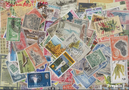 Barbados Briefmarken-500 Verschiedene Marken - Barbados (1966-...)