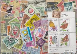Bahrain Inseln Briefmarken-100 Verschiedene Marken - Bahrein (1965-...)