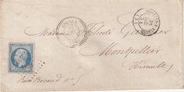 "FRANCE : PC 1125 . "" DORMES "" . (56) . N° 14 . TB . 1854 . - Marcophilie (Lettres)"