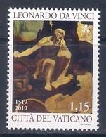 Vaticano (2019) Leonardo Da Vinci (500th Anniversary Of Death) - Single Stamp (MNH) - Andere