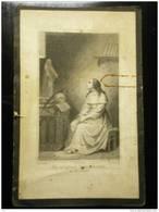 Doodsprentje Image Mortuaire Joannes-baptista Van Nieuwenhuyse Sint Amand Oostakker Oostacker 1814-1866 - Décès