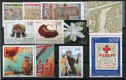 RC 12795 POLYNESIE TIMBRES DIVERS 2014 / 2016 NEUF ** - Polynésie Française