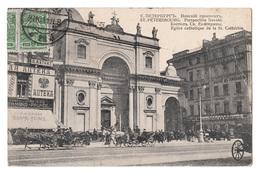 CPA Russie St. Pétérsbourg, Eglise De La St. Cathérine, 1911, С.- Петербургъ Postcard Postkarte - Russie