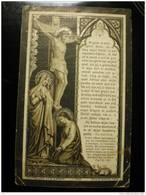 Doodsprentje Image Mortuaire Eerwaarde Heer Menschaert 1835-1893 Nederbrakel Lovendegem Gent Geraardsbergen Sleidinge - Décès