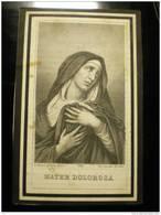 Doodsprentje Image Mortuaire Augustus Martens 1861-1889 Aaltre Aalter Drongen - Décès