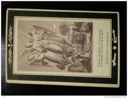 Doodsprentje Image Mortuaire Maria Theresia Martens Weduwe Charles Temmerman Meerendré Drongen 1817-1891 - Décès