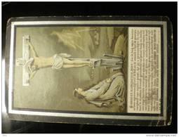 Doodsprentje Image Mortuaire Rosalie Lootens Drongen 1826-1896 Weduwe Dossche Ferdiand & Carolus Ludovicus - Décès